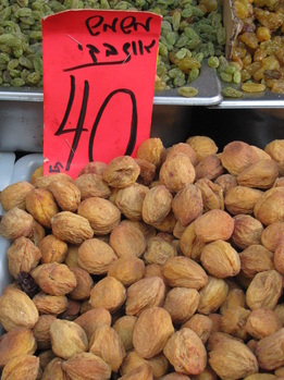 Israel Food Tours - dried fruit